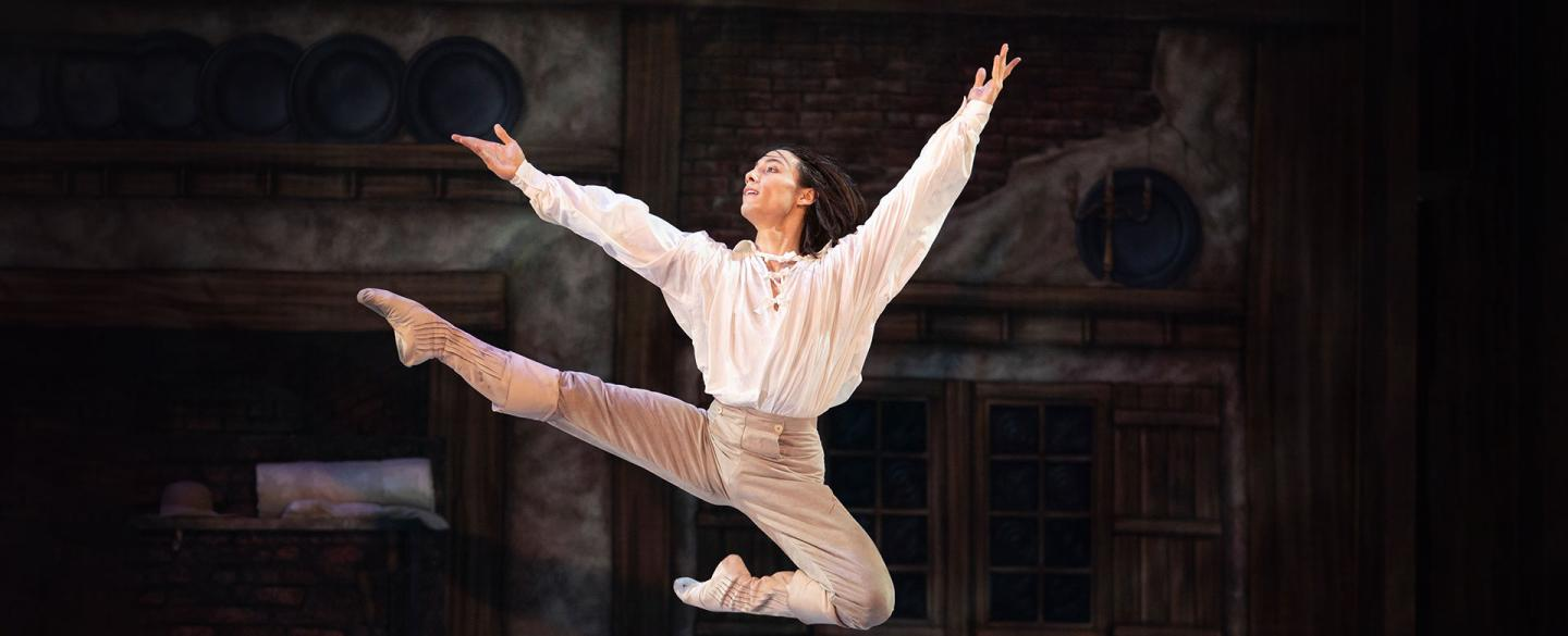 D'Artagnan leaps with joy