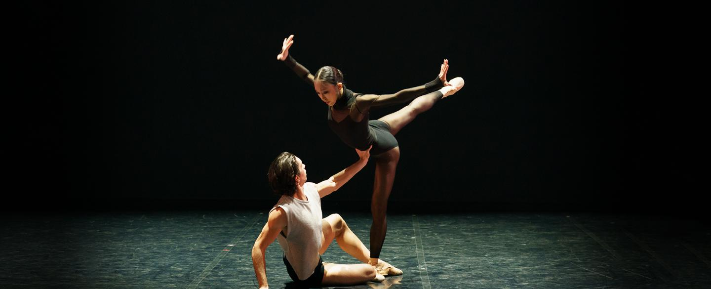 Lorenzo Trossello and Minju Kang dancing in States of Mind