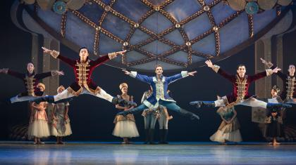 Northern Ballet dancers in Cinderella